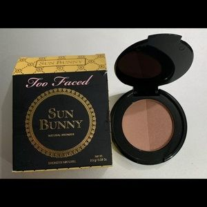 Too Faced SUN BUNNY NATURAL BRONZER Travel NEW